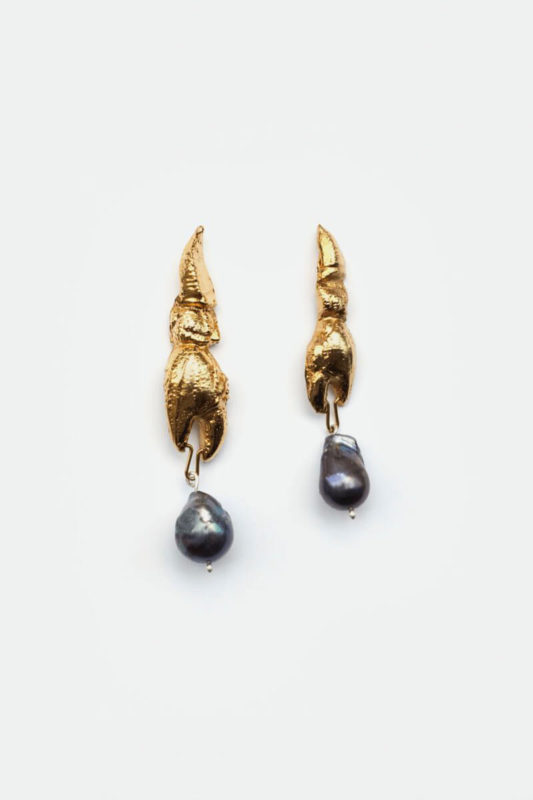Earrings gold