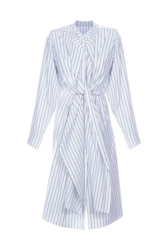 White striped dress-shirt