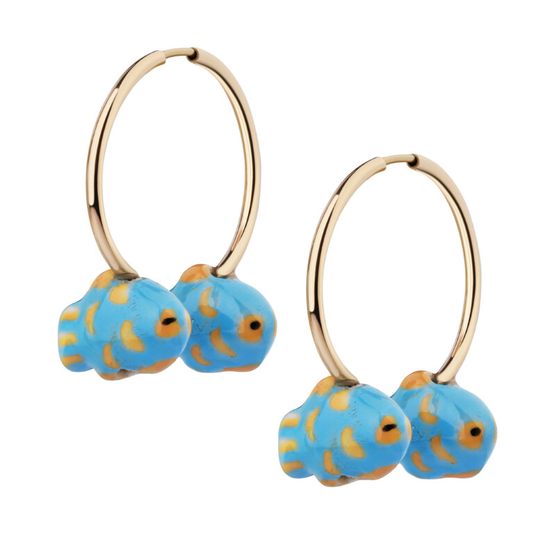"Earrings ""Fishes"""