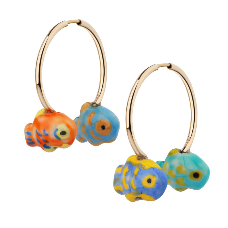 "Earring ""Fishes"""